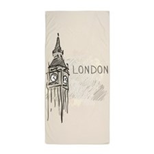 London Beach Towel