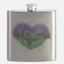 Aurora Munising Flask