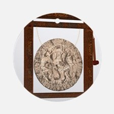 oriental gong Ornament (Round)