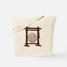 oriental gong Tote Bag