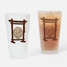 oriental gong Drinking Glass