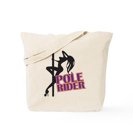Pole Rider Tote Bag