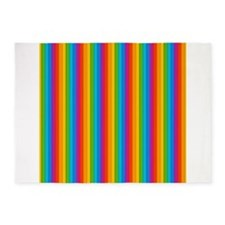 Rainbow Wall 5x7Area Rug