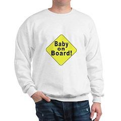 'Baby on board' Sweatshirt