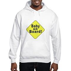 'Baby on board' Hoodie