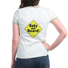 'Baby on board' (OnBack) T