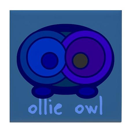 """""""Ollie Owl"""" Tile Coaster"""