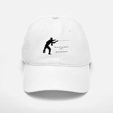Fencing Style 1 Baseball Baseball Cap