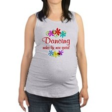 Dancing is Special Maternity Tank Top