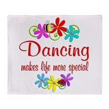 Dancing is Special Throw Blanket