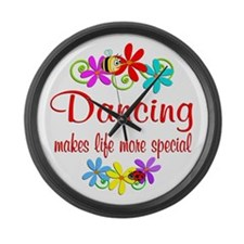 Dancing is Special Large Wall Clock