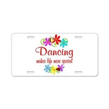Dancing is Special Aluminum License Plate