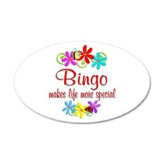Bingo is Special Wall Decal