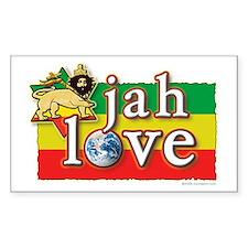 Jah Love Decal