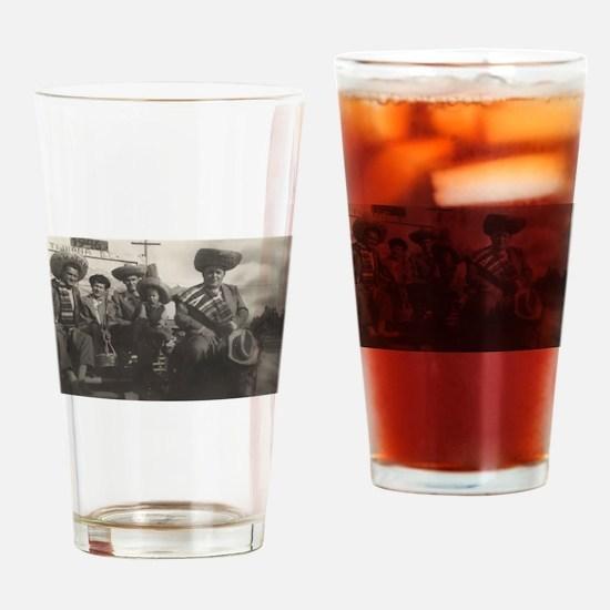 Mexican Gentlemen Drinking Glass