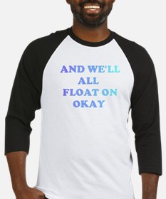 float on Baseball Jersey