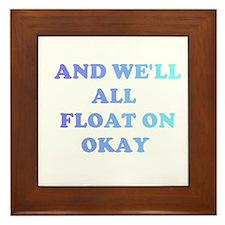 float on Framed Tile