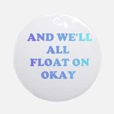 float on Ornament (Round)