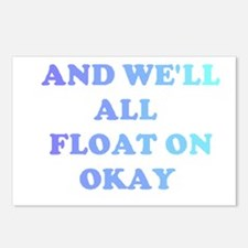 float on Postcards (Package of 8)