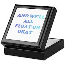 float on Keepsake Box