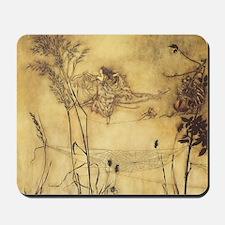 Fairy's Tightrope by Arthur Rackham  Mousepad