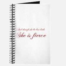 she-is-fierce-cho-red Journal