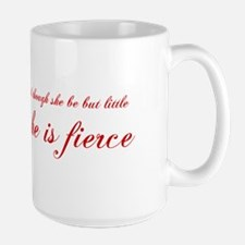 she-is-fierce-cho-red Mugs