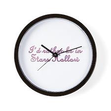 Stars Hollow Wall Clock
