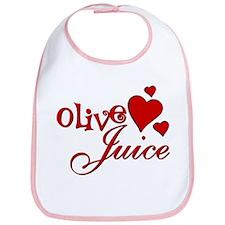 Olive Juice (I Love You) Bib