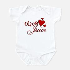Olive Juice (I Love You) Infant Bodysuit