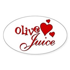 Olive Juice (I Love You) Decal