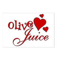 Olive Juice (I Love You) Postcards (Package of 8)