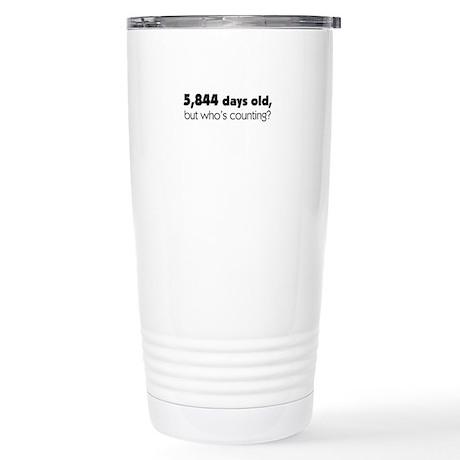 16th Birthday Stainless Steel Travel Mug