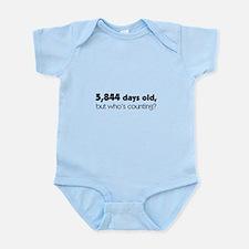 16th Birthday Infant Bodysuit
