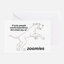 Single Zoomer Greeting Cards (Pk of 10)