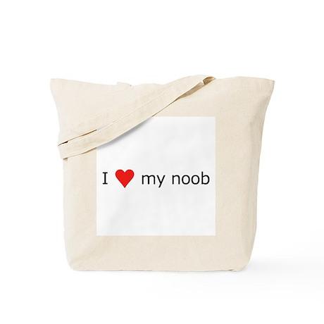 I Love My Noob Tote Bag