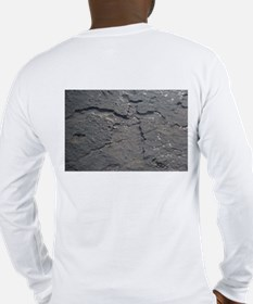 hawaiian petroglyphs on long sleeve T shirt