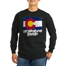 Arapahoe Basin Grunge Flag T