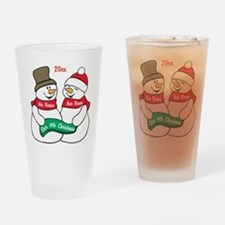 Our Nth Christmas Drinking Glass