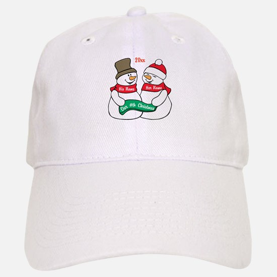 Our Nth Christmas Baseball Baseball Cap