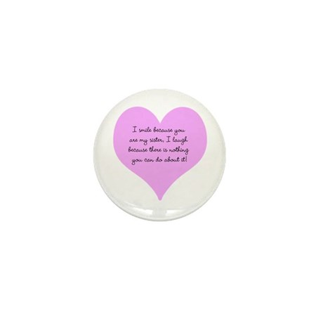 My Sister Mini Button (10 pack)