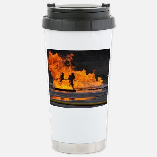 Firefighters take the heat Stainless Steel Travel