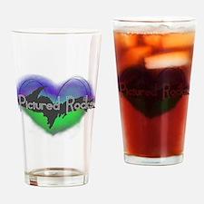 Aurora Pictured Rocks Drinking Glass