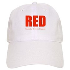 Color Red Baseball Baseball Cap