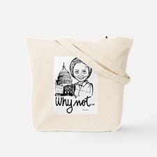 Hillary Clinton Ladies Tote Bag