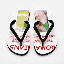romania Flip Flops