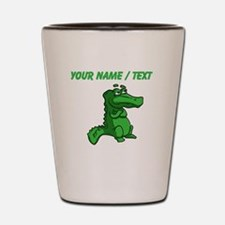 Custom Alligator Shot Glass