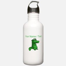 Custom Alligator Sports Water Bottle