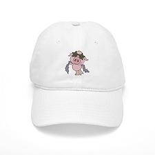 Pig Star Baseball Baseball Cap