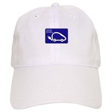Recharge station for electric cars - France Baseball Cap